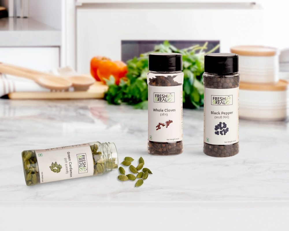 Whole spices banner