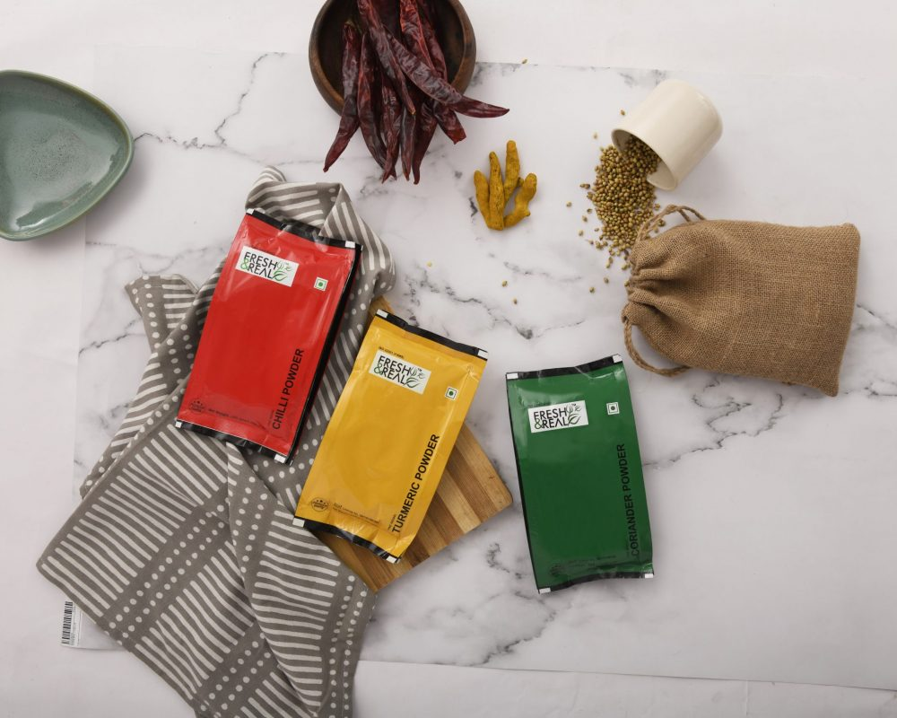 Indian spices banner