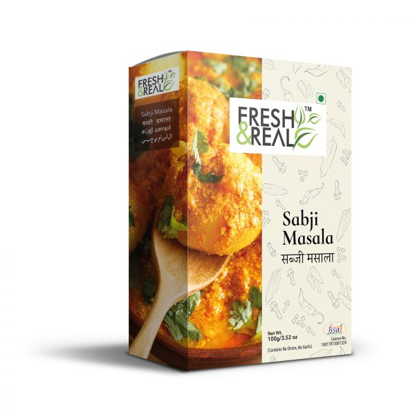 Sabji Masala Powder in tetra Pack